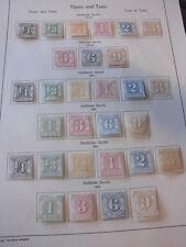 Sammlung, T u T, Thurn und Taxis, ungebraucht mit 18/19 u. 24/54 komplett (1105)