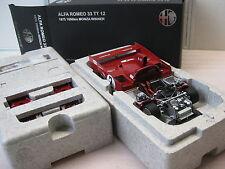 Autoart ALFA ROMEO 33tt12 #2 MONZA 1975 1:18 NUOVO