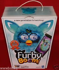 FURBY BOOM TEAL PATTERN PLUSH TOY HASBRO FAVORITE BLUE SPECIAL EDITION BRAND NEW