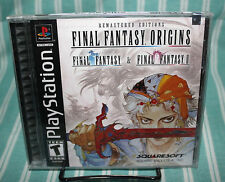 Final Fantasy Origins PS1 BRAND NEW SEALED Black Label Original Playstation