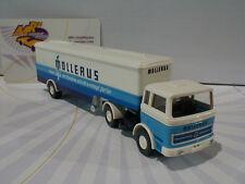 """Wiking 0513 18 - Mercedes-Benz 1620 Koffersattelzug Mollerus """" blau/weiß """" 1:87"""