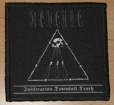 "REVENGE ""INFILTRATION.DOWNFALL.DEATH"" silk screen PATCH"