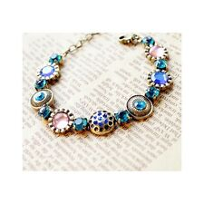 Chic Boho Multi Colour Gemstone Bracelet (786)