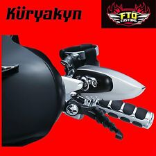 Kuryakyn Chrome Fairing Mounted Scythe Mirrors '06-'13 Touring 1818