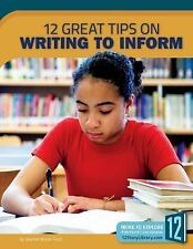 12 Great Tips on Writing to Inform by Jeanne Marie Ford (2016, Paperback)