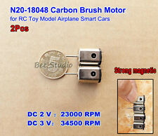 2pcs N20 DC 3V 34500RPM High Speed Mini HM DC Motor  Flugzeug  Helicopter & Toy