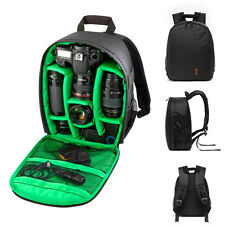 Black Waterproof DSLR Camera Lens Backpack Case Bag For Nikon Canon Sony Hot DY