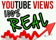 Youtube promotion 1000 mix viewers to video limited time offer sale special ����