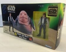 Star Wars Trilogy Edition POTF: Jabba The Hutt & Han Solo  (BRAND NEW SEALED)