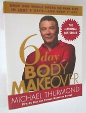Thurmond 6 DAY BODY MAKEOVER libro FITNESS dieta body sculptor weight loss