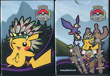 POKEMON BOITE DE RANGEMENT DE CARTE POKEMON INDIAN PIKACHU INDIEN 2013 (VIOLET)