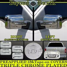 2004-2008 FORD F150 Chrome Door Handle(2k,noKP)+Gas Door+Mirror+TailgateC Covers