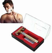 Men's Safety Handheld Manual Shaver Double Edge Safety Razor Blade With Box Mo