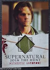 Supernatural Seasons 1-3 M19 Sam Winchester Wardrobe Relic Prop Trading Card