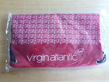 VIRGIN ATLANTIC CHILDREN'S IN-FLIGHT ACTIVITY PACK - RED inc PUZZLE BOOK & PEN