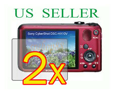 2x Sony CyberShot DSC-HX10V DSC-HX10 Clear LCD Screen Protector Guard Film