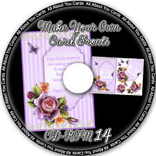 Make Your Own Card Fronts CD-ROM 14