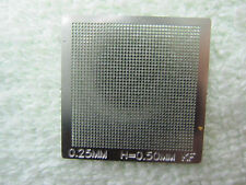 0.25mm 0.25 mm (Pitch=0.5mm) Heated Directly Universal Stencil Template