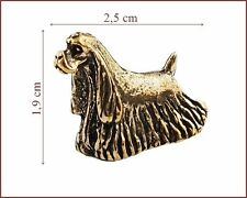 American  Cocker   Spaniel       *   Metallfigurchen