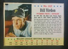 1963 Post #142 BILL VIRDON Pittsburgh Pirates (EX+) NO CREASES! L@@K *FREE SHIP*