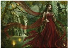 NEW! Heye Forgotten - Red by Cris Ortega 3000 piece fantasy jigsaw puzzle