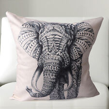 New Solid elephant Cushion Cover Home Decor Bed Sofa Throw Pillow Case 45*45CM