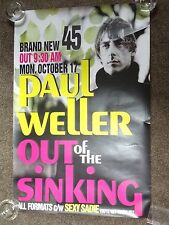 "Paul Weller (Jam) ""Out Of The Sinking"" 1994 UK Promo Poster"