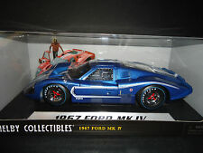 Shelby Collectibles Ford MK IV 1967 Blue 1/18
