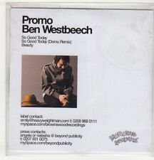 (EV518) Ben Westbeech, So Good Today - 2006 DJ CD