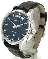 Hamilton Jazzmaster Day Date Leather Automatic Men's Watch H32505741 New Orig