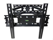 FULL MOTION TILT DUAL ARM LCD LED TV WALL MOUNT BRACKET 36 40 42 45 46 47 50 55