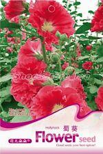 1 Bag 30 Seeds Hollyhock Althaea Flower Seed A028