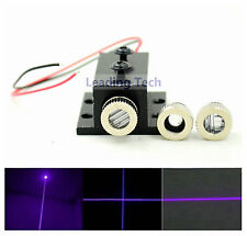 Adjusted Violet Blue Diode Lasers 405nm 20mw Dot/Line/Cross Module w/ Heatsink