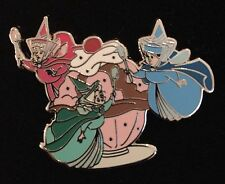 DISNEY PIN FLORA FAUNA MERRYWEATHER PTD DSF FAIRIES PIN TRADERS DELIGHT LE 500