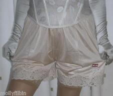 Style vintage or silky nylon élastique slips français culottes taille 22~91.4cm