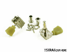 NEW Grover Vintage Tulip Keystone 3x3 TUNERS 14:1 Gibson Les Paul Guitar Nickel