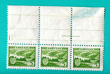 LATVIA LETTLAND BLOCK OF 3 STAMPS 1938s SC.201 M.265 MNH 910