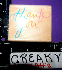 THANK YOU RUBBER STAMPS HERO ARTS E352