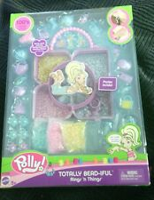 POLLY POCKET TOTALLY BEAD-IFUL RINGS 'N THINGS BEAD & CHARM CRAFT SET **NEW**