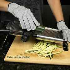 Pronto Kitchen Adjustable Stainless Steel Mandoline Food Slicer - Comes with One