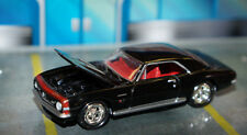 LIMITED ED. BLACK 1967 67 CHEVY CAMARO SS JOHNNY LIGHTNING DIECAST 1/64 SCALE