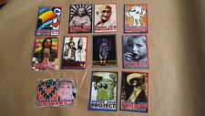 11 STREET ART -SPREAD LOVE PROJECT-GRAFFITI STICKERS-OBEY-SPACE INVADER-STICKER