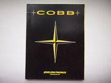 VINTAGE COBB JEWELERS FINDINGS CATALOG 759 WATCH JEWELRY ACCESSORY PARTS PENDANT