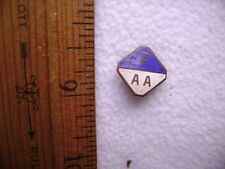 ca. 1910 pinback lapel button - F/AA - I have no idea where this is from