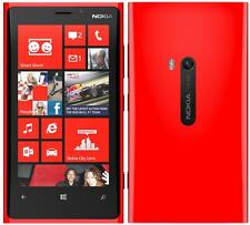 Nokia Lumia 920 US 4G LTE Smartphone (AT&T - Unlocked) Red - 32GB (FRB)