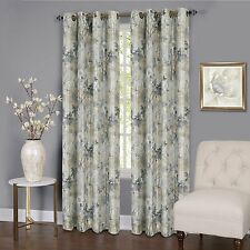 """Achim Home Furnishings Tranquil Lined Grommet Window Curtain Panel, 50"""" x 84"""", S"""
