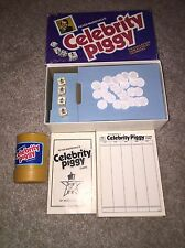 Peter Marshall's Celebrity Piggy Game pig dice  vtg 1978 MB E.S. Lowe RHTF LOOK!