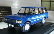1:43 Scale Model Land Range Rover Classic 3.5 V8 4 Door 1982 Whitebox Ltd Ed