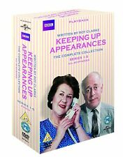 Keeping Up Appearances Collection Series 1 2 3 4 5 Region 2 New DVD (8 Discs)