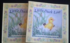 Little Duck Lost BY Erica Briers 2003 FIRST ED W/ DJ